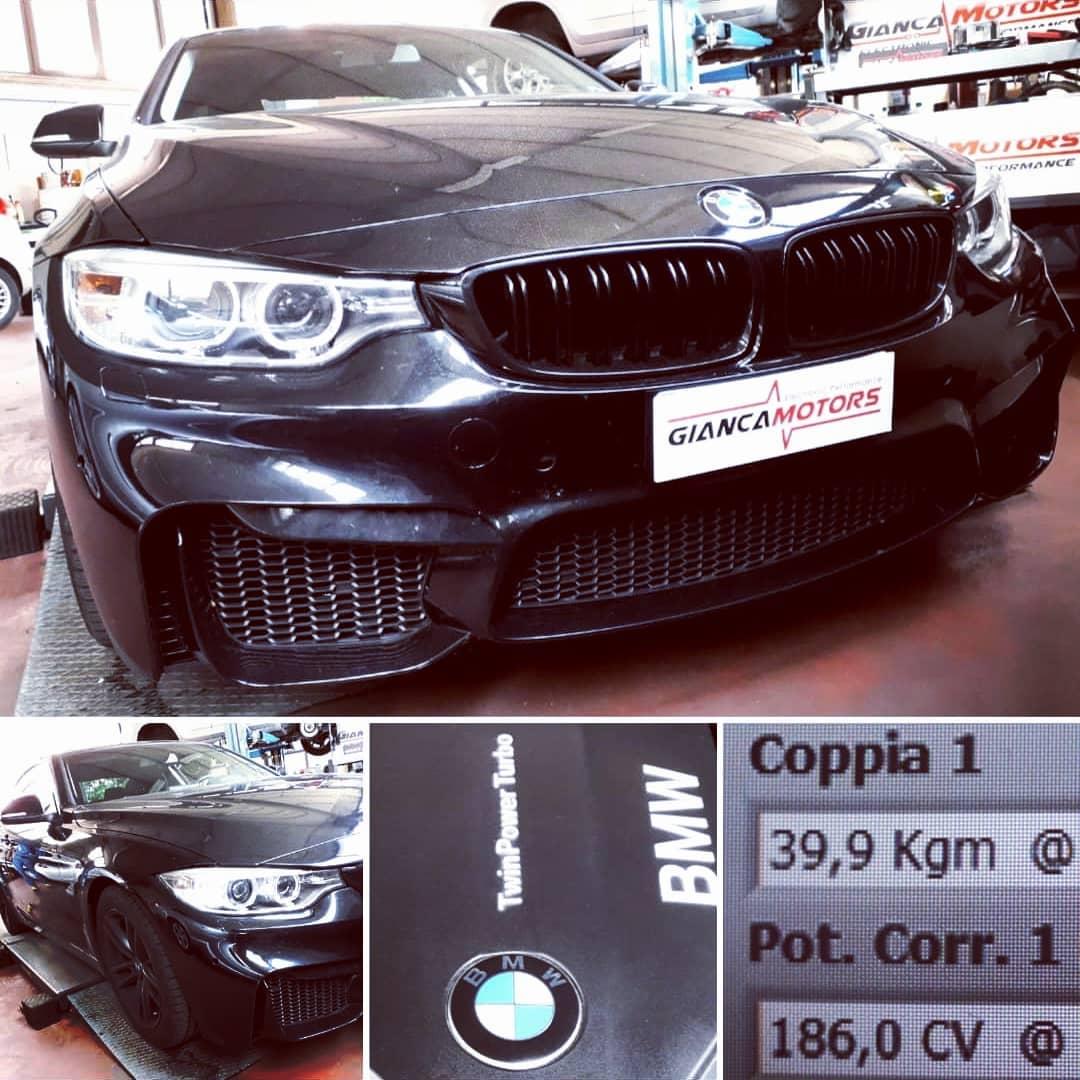 """<span class=""""light"""">RIMAPPATURA</span> CENTRALINA BMW 418d 150cv 2016 F32_.<br /> ✅ Remap Stage 1 by """"Gianca""""<br /> ✅ Potenza 150@186cv<br /> ✅ Coppia 310@399nm<br /> ✅ Nessun problema a Fap/Dpf/Egr<br /> ✅ Affidabilità al TOP<br /> ✅ Intervento in giornata<br /> ✅ Test Prova Potenza prima e dopo<br /> ✅ 2,5 secondi in meno nel test in 3 da 1500 a 4500giri ;)<br /> What else?? le prestazioni della tua BMW</p> <p>Scegli il tuo Stage di e goditi un nuovo di guida:</p> <p>https://www.giancamotors.it/i-nostri-stage/</p> <p>Aperti al SABATO fino alle 18:00.</p> <p>Per Info & Prenotazioni<br /> ☎️ 389.7979552<br /> ✉️ giancamotors@gmail.com<br /> www.giancamotors.it<br /> Siamo a Busto Arsizio (VA) a solo mezz'ora da Milano, Varese e Novara"""