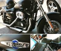 """RIMAPPATURA CENTRALINA HARLEY DAVIDSON 1200 Sportster 68cv 2015_  Abbiamo rimappato la centralina per risolvere il classico problema dei vuoti in accelerazione dopo il montaggio di scarico e filtro sportivo. Nel contempo abbiamo regolato la carburazione al minimo per un minimo """"scoppiettante"""". Il tutto in solo 1 ora.  Rimappa la centralina della tua moto Harley e riscopri da subito un nuovo piacere di guida.  Aperti al SABATO fino alle 18:00!  Per Info & Prenotazioni ☎️ 389.7979552 ✉️ giancamotors@gmail.com www.giancamotors.it Siamo a Busto Arsizio (VA) a solo mezz'ora da Milano, Varese e Novara"""