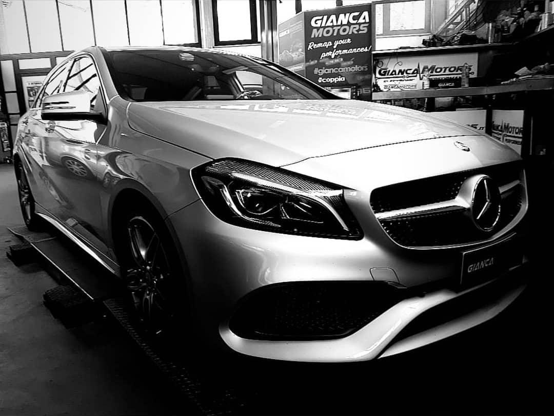 """<span class=""""light"""">RIMAPPATURA</span> CENTRALINA Mercedes Classe A 180cdi 110cv 2016 automatica_<br /> .<br /> ✅ Rimappatura Stage 1 by<br /> ✅ Potenza +25cv a 3500giri<br /> ✅ Coppia +50nm costanti da 2000 a 3000giri<br /> ✅ Affidabilitá al Top<br /> .<br /> Stage 1 disponibile per tutti i motori 1.5 dci Mercedes e Renault.<br /> .<br /> Chiptuning garantito da oltre 15 anni di esperienza e un consolidato<br /> ✅1. Diagnosi<br /> ✅2. Prova Potenza prima<br /> ✅3. Backup e Rimappatura<br /> ✅4. Prova Potenza dopo<br /> ✅5. Diagnosi & Controlli<br /> .<br /> Cosa Aspetti!<br /> Migliora la Coppia, la Potenza e diminuisci i Consumi della tua Mercedes con la Nostra rimappatura della centralina.<br /> .<br /> .<br /> Seleziona la Tua Auto dal Catalogo e scopri il potenziale della Rimappatura:</p> <p>https://www.giancamotors.it/catalogo/</p> <p>.<br /> .<br /> .<br /> Abbiamo attivato il SERVIZIO GRATUITO DI E vettura.<br /> .<br /> .<br /> .<br /> .<br /> Per Info & Prenotazioni<br /> ☎ 389.7979552</p> <p>https://wa.me/393897979552</p> <p>✉ giancamotors@gmail.com<br /> www.giancamotors.it<br /> Siamo a Busto Arsizio (VA) a solo mezz'ora da Milano, Varese e Novara.<br /> .<br /> Aperti al SABATO fino alle 18:30!<br /> .<br /> .<br /> Riceviamo su appuntamento"""