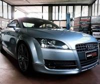 """RIMAPPATURA CENTRALINA Audi TT 20tfsi 200cv +40cv +80nm_ . ✅ Rimappatura Stage 1 ✅ Potenza 191cv @ 231cv ✅ Coppia 280nm @ 360nm ✅ Limitatore Velocitá Off ✅ Rimappatura by GiancaMotors ✅ Affidabilitá al Top ✅ Software garantito a Vita ✅ Test Prova Potenza . . . TFSI Mania! Consigliato da un """"esercito"""" :)) di Amici si é rivolto a Noi per una Rimappatura affidabile, senza strafare. Anche in questo caso i risultato sono stati ottimi, +40cv e +80nm in totale sicurezza. . . . . Ricordiamo che i Nostri Software sono: ✅ il risultato di oltre 18 anni di esperienza nel settore ✅ testati rigorosamente su ogni singola vettura ✅ personalizzabili in base alle esigenze del cliente ✅ ripristinabili gratuitamente all'originale ✅ affidabili e con il miglior equilibrio tra prestazioni e consumi ✅ garantiti a Vita . Cos'altro?? Cosa Aspetti! Incrementa la Aumenta la Riduci i  Scopri il potenziale della Rimappatura centralina della tua Auto.  Visualizza qui l'incremento di Potenza della tua Auto >>> https://www.giancamotors.it/catalogo/ . . . . . . . . Per info e prenotazioni ☎ 389.7979552 https://wa.me/393897979552 ✉ giancamotors@gmail.com www.giancamotors.it Siamo a Busto Arsizio (VA) a solo mezz'ora da Milano, Varese e Novara. . Aperti al SABATO fino alle 18:30! . . Riceviamo su appuntamento. . . @audi @auditt @audiclub @audittclub"""